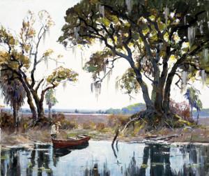 Morning Light Near Charleston, South Carolina, ca. 1940, by Anthony Thieme (American, 1888 – 1954)