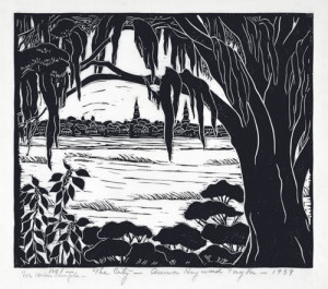 The City, 1939, by Anna Heyward Taylor
