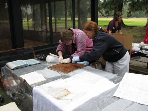 Image: Disaster Training for Museum Collections