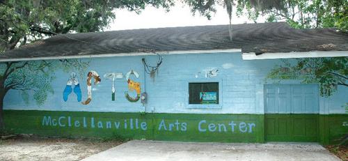 McClellanville Arts Center Mural
