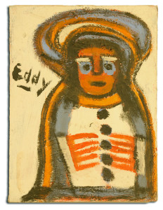 "Untitled, n.d., by Edward ""Mr. Eddy"" Mumma (American 1908-1986)"