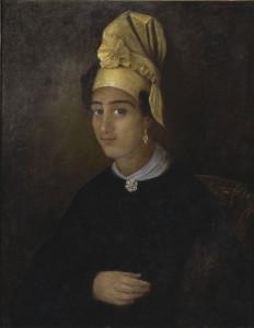 Portrait of Betsy, by François (Franz) Fleischbein