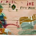 Ike, 1982, by Sam Doyle