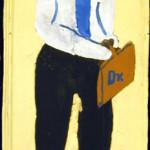 Dr. Y. B. (York Bailey), ca. 1970, by Sam Doyle