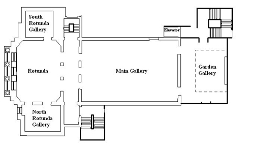 Gibbes Museum of Art: Second Floor