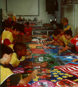 Porter-Gaud School Students at Work