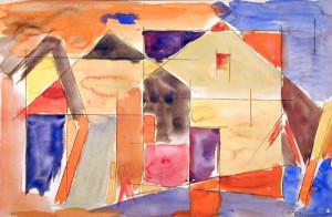 Untitled, 1950, by Merton Daniel Simpson (American, b. 1928)
