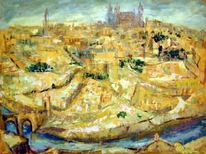 View of Toledo, ca. 1965 By Corrie McCallum