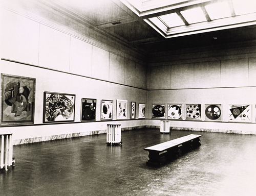 Guggenheim Exhibition at the Gibbes Museum, 1936