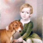James Butler Campbell, Jr., 1845, by Charles Fraser