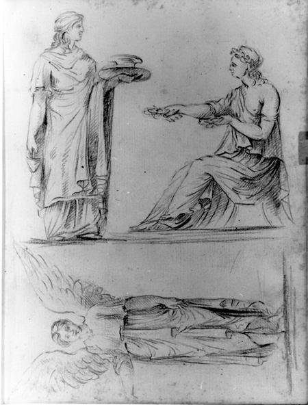 Henry Benbridge sketchbook, ca. 1765–1769, by Henry Benbridge (American, 1743–1812)