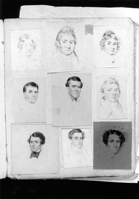 Joseph Jackson sketchbook, ca. 1847, by Joseph Jackson (American, 1796–1850)