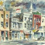 Broad Street Charleston, by Chevis Clark