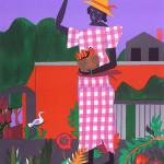 In the Garden, 1979, by Romare Bearden (1911-1988)