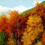 Brilliant Autumn Foliage, by William Aiken Walker (American, 1838 - 1921)
