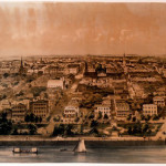 Panorama of Charleston, by John William Hill (British, 1812 - 1879)