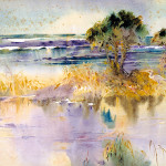 A Lagoon by the Sea, from the series A Carolina Rice Plantation of the Fifties