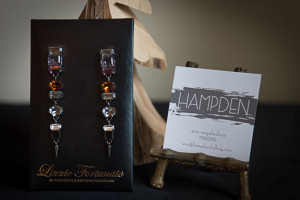 Earrings from Hampden Clothing, by Lizzie Fortunato