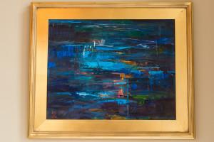 Oil painting by Laura Szweda