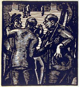 Politicians, Number 2, The Joke, n. d, by Richard Lofton
