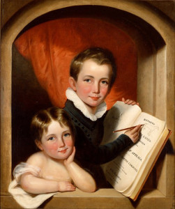 Robert and Elizabeth Gilchrist, 1836, by George Cooke (American, 1793 - 1849)