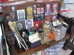 Roberto Fabelo's studio
