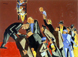 Accident 1946 by Jacob Lawrence
