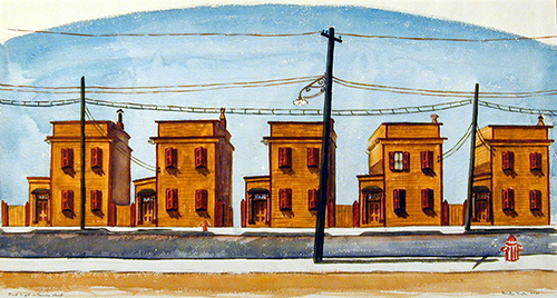 Hard Light in Trumbo Street, 1934