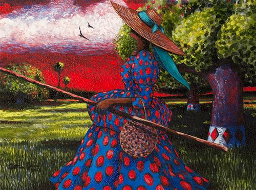 Rice Plantation by Jonathan Green