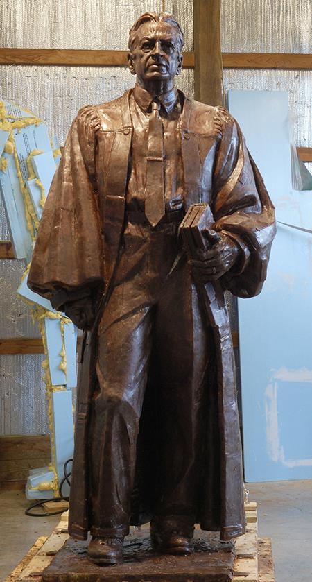 Judge Waites Waring sculpture
