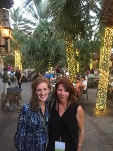 Rebecca Sailor and Zinnia Willits at SEMC 2015 in Jacksonville, Florida.