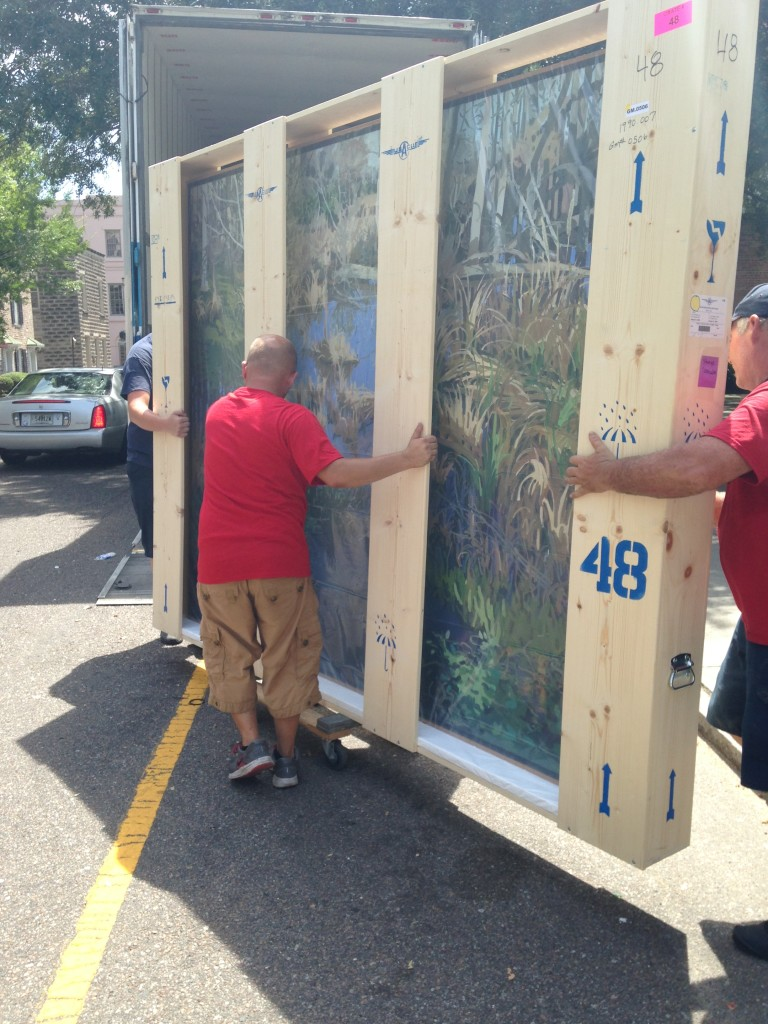 Gibbes Collection on the move