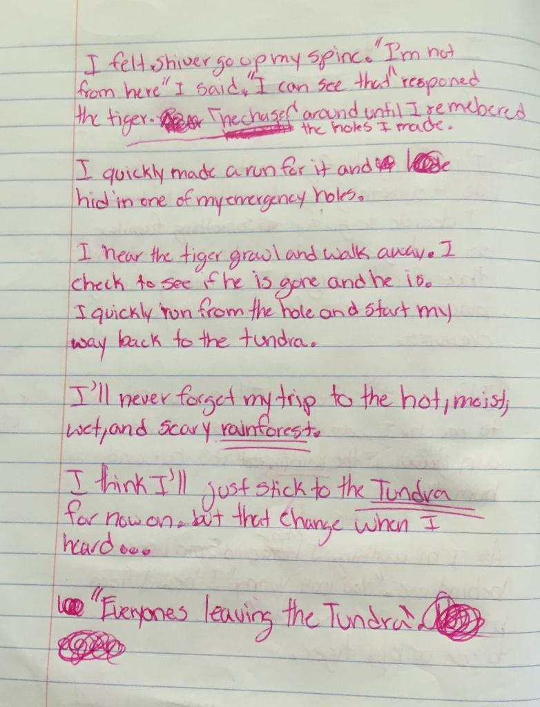 peer editing creative writing