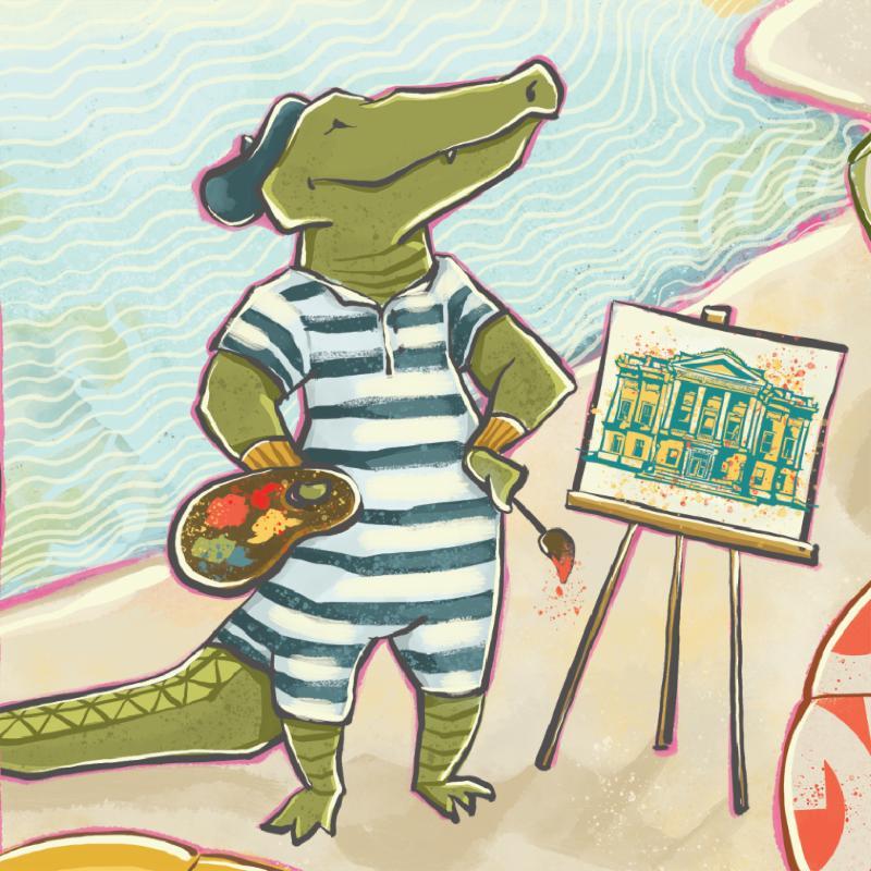 The Gibbes Gator