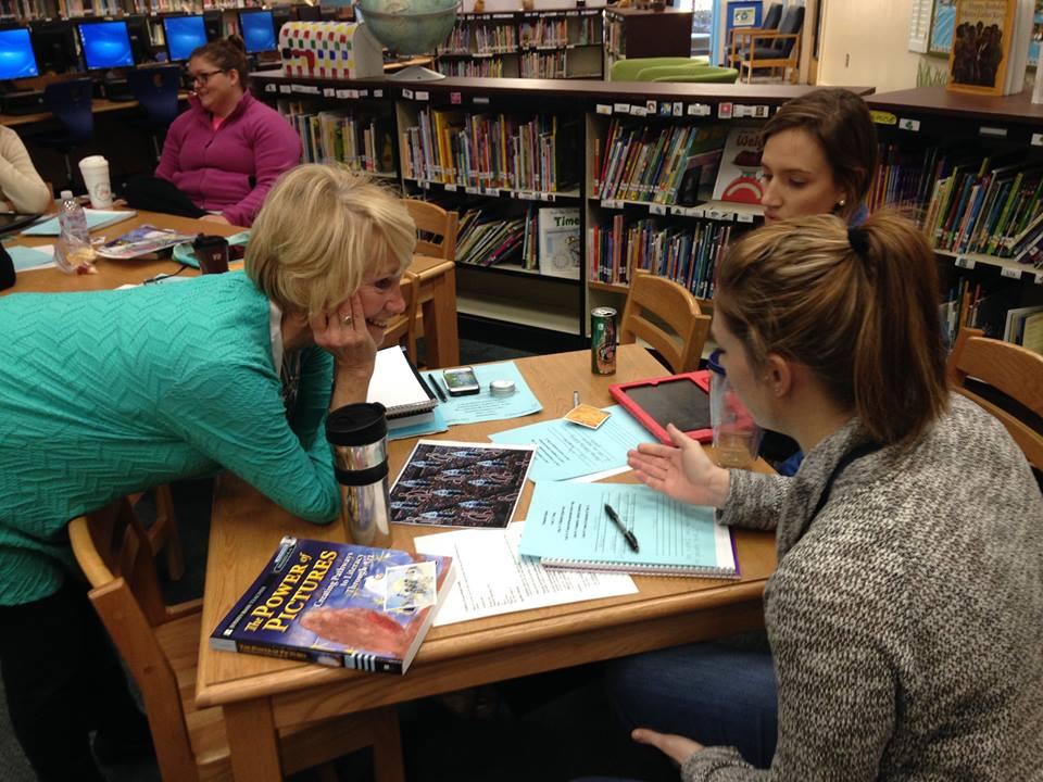 Teachers at Angel Oak Elementary