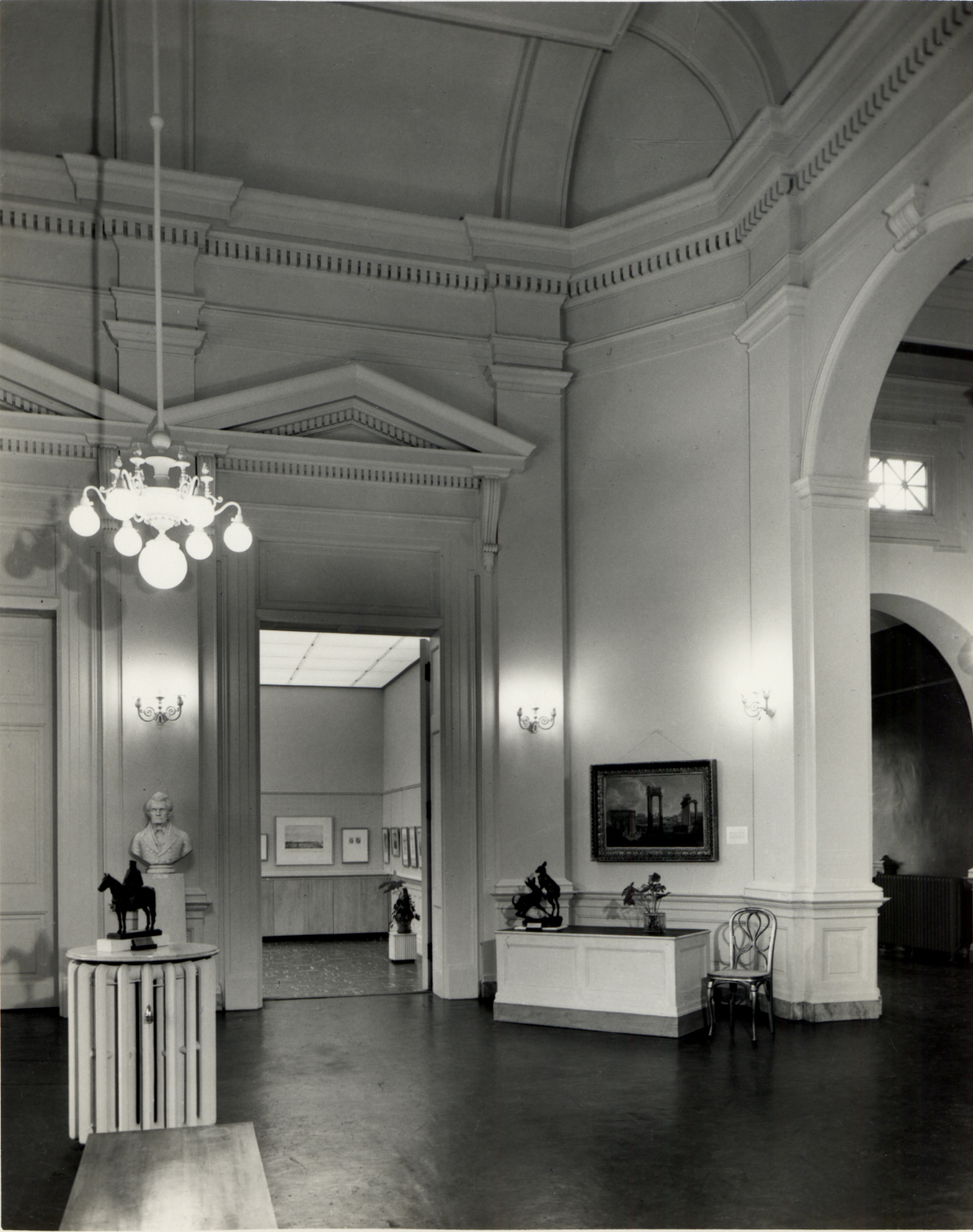 Rotunda Gallery, ca. 1960