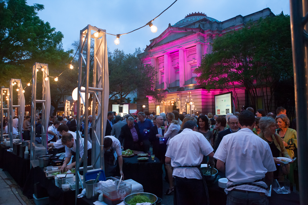 Gibbes on the Street transforms Meeting Street into a delight for the senses.