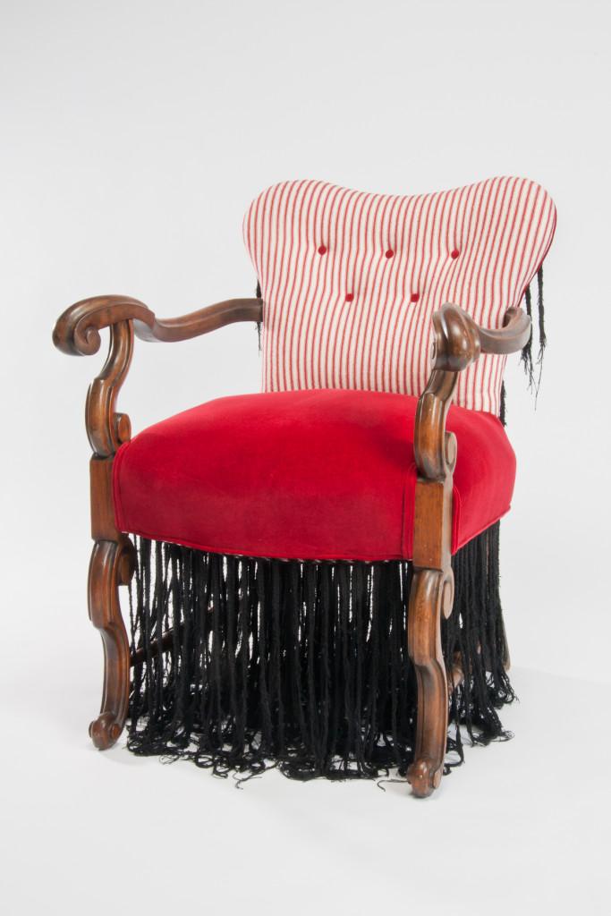 Cornrow Chair by Sonya Clark