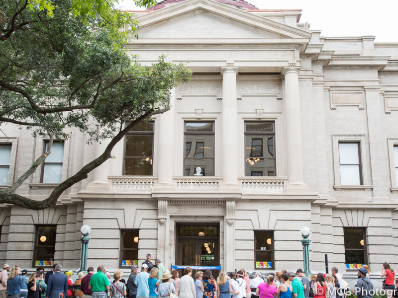 Gibbes Museum Ribbon Cutting Ceremony