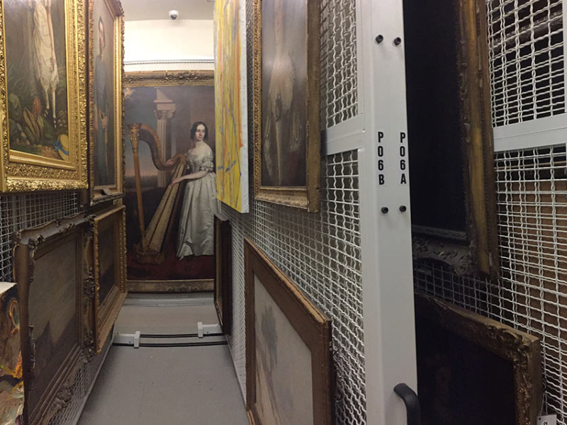 Collection Storage: From the Gallery Walls to the Back Room