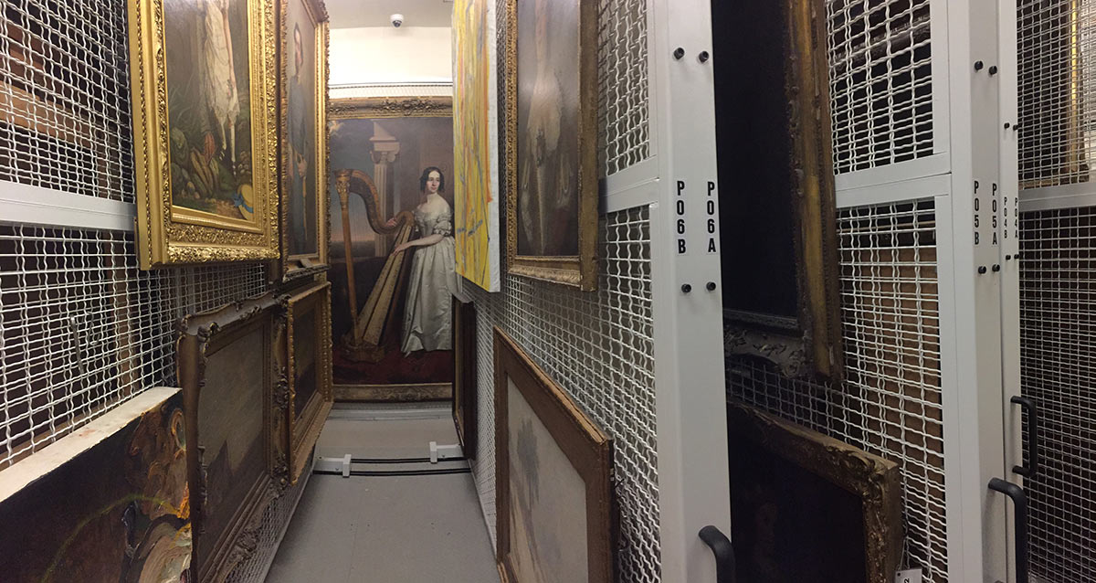 Collection Storage From The Gallery Walls To The Back