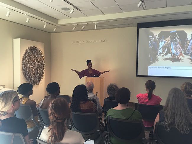 Sonya Clark artist talk