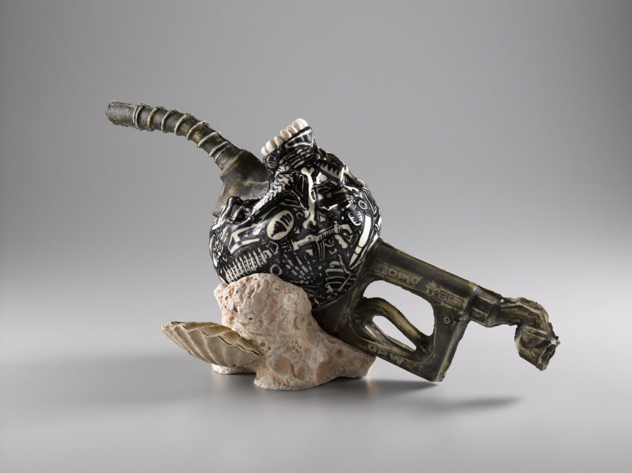 Fossil Teapot, 2008, by Michelle Erickson