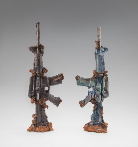 Ormolu Guns, 2015, by Michelle Erickson