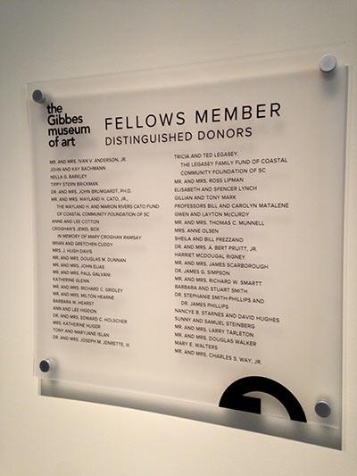 Fellows Member donor panel