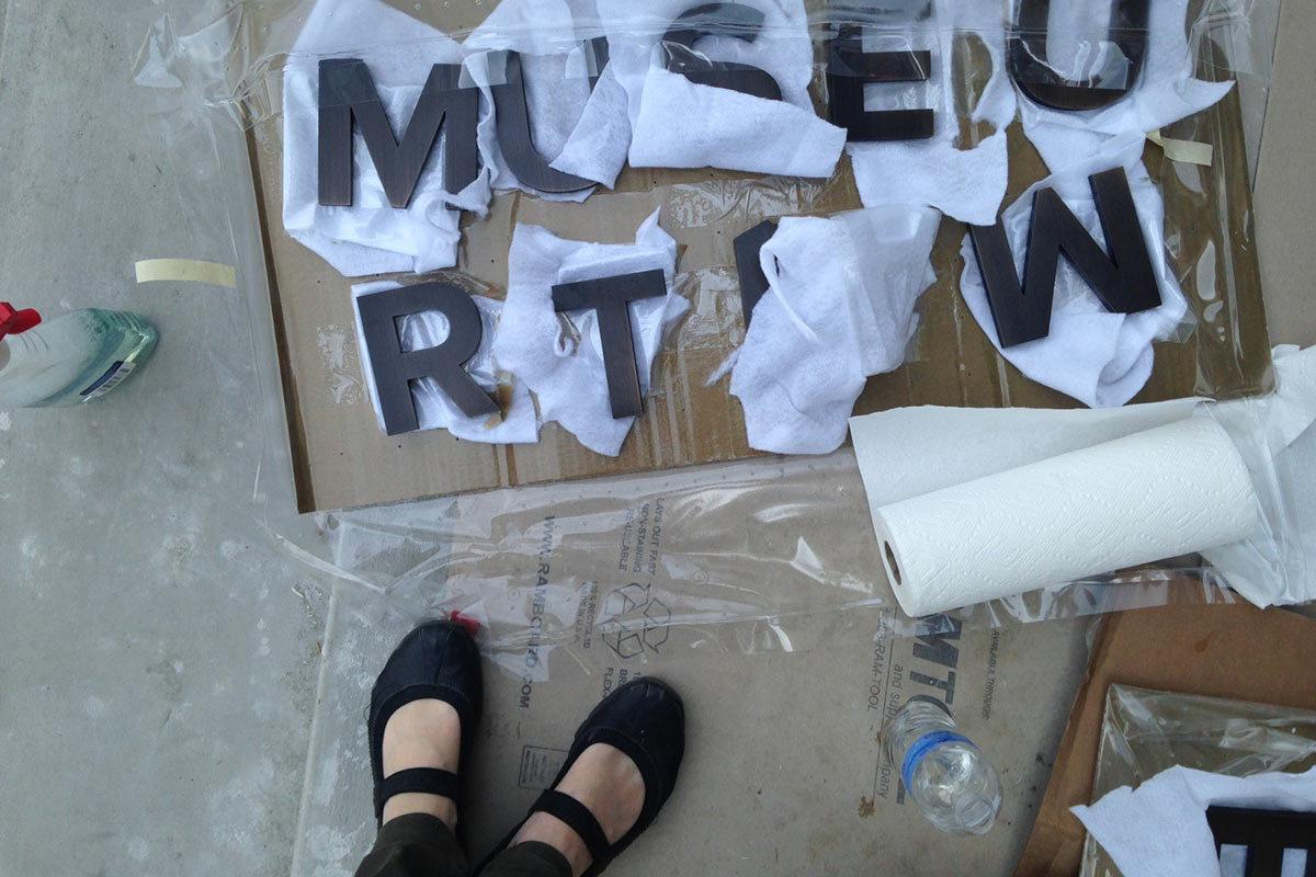 Museum Signage samples