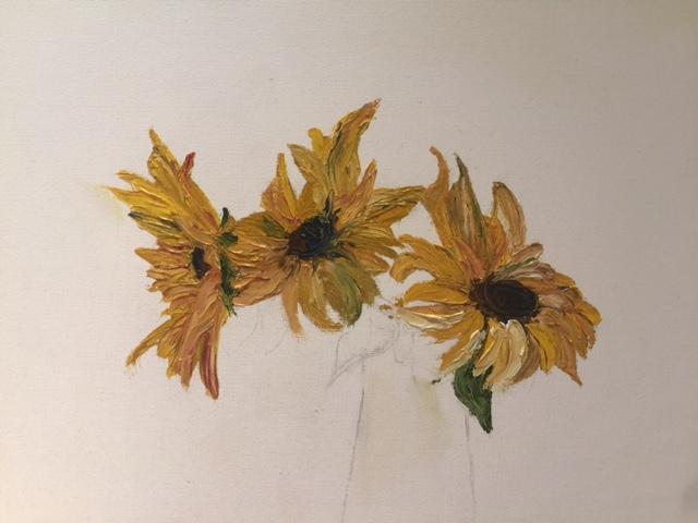 Sunflowers by Susan Brinkley