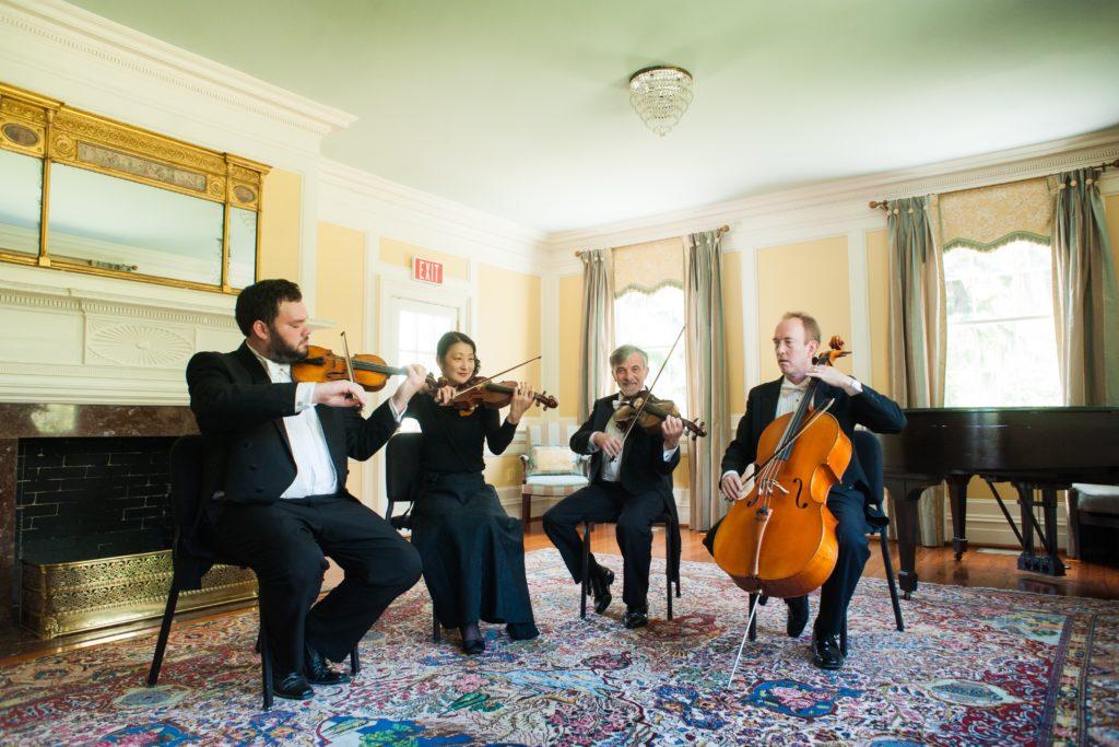 Charleston Symphony Orchestra String Quartet.