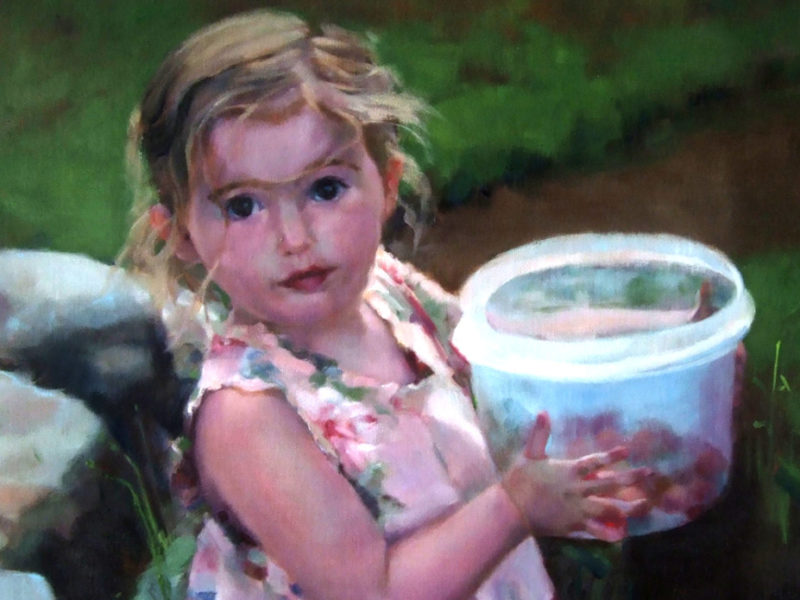 Little Helper (detail), by Alana Knuff