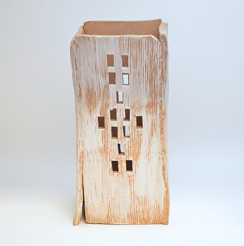 Ceramic Lantern, 2015, by Liv Antonecchia;